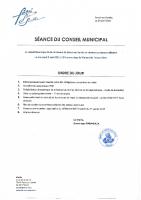 Ordre du jour – 05/05/2021
