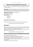Compte-rendu – 05/05/2021