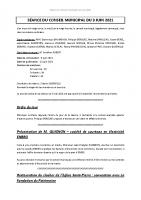 Compte-rendu – 09/06/2021