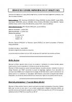 Compte-rendu – 07/07/2021