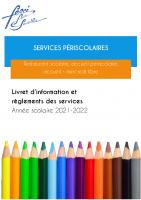 20212022 Livret infos